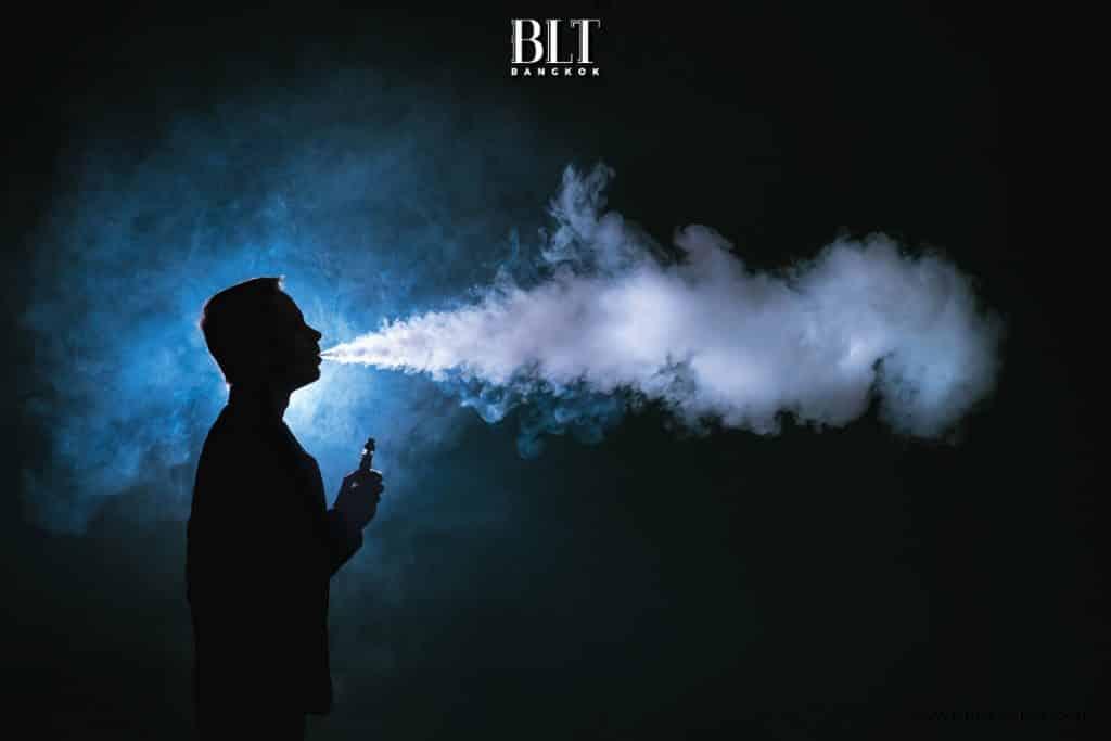 บุหรี่ ไฟฟ้า ปาก ดํา ไหม