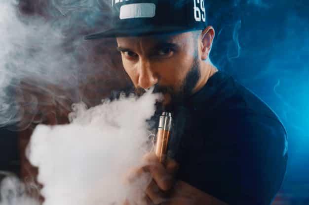 man vaping electronic cigarette 158595 3038